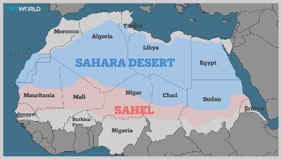 Sahel Region, Africa